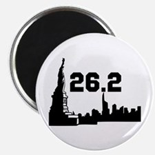 New York Marathon 26.2 Magnet