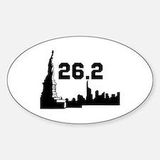 New York Marathon 26.2 Decal