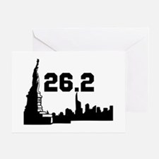 New York Marathon 26.2 Greeting Card