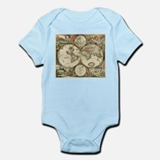 Vintage Map Infant Bodysuit