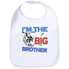 Cool Skateboard Big Brother Design Bib