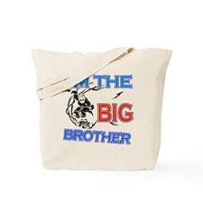 Cool Skateboard Big Brother Design Tote Bag