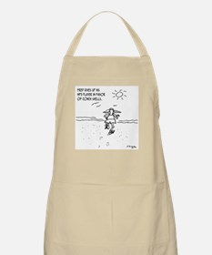 Shells Instead of MP3 Player Apron