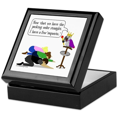 Pecking Order Keepsake Box