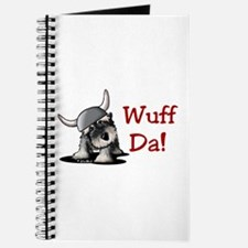 KiniArt Schnauzer Wuff Da! Journal