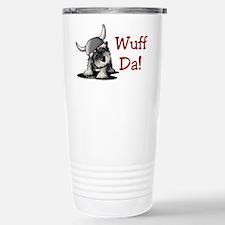 KiniArt Schnauzer Wuff Travel Mug
