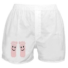 Smiling Feet Boxer Shorts