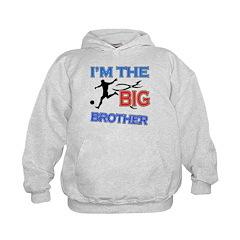 Cool Soccer Big Brother Design Hoodie