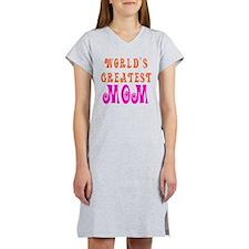 World's Greatest mom Women's Nightshirt