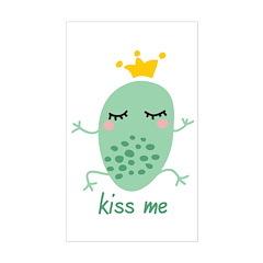 Kiss Me Frog Decal