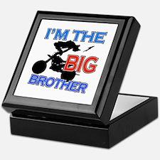 Cool Motorbike Big Brother Design Keepsake Box