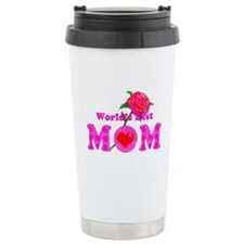 World's Best MOM Travel Mug
