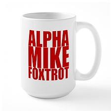 Alpha Mike Foxtrot Mug
