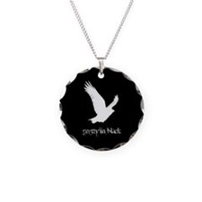 Raven Necklace in Black