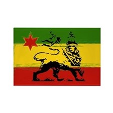 Rasta Gear Shop Rasta Flag Rectangle Magnet