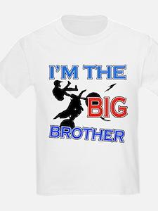 Cool Motorbike Big Brother Design T-Shirt