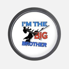 Cool Motorbike Big Brother Design Wall Clock