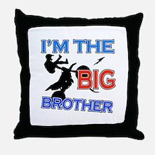 Cool Motorbike Big Brother Design Throw Pillow