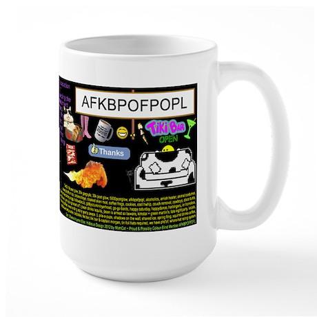 Crazy Colour Large Mug: lisalei321