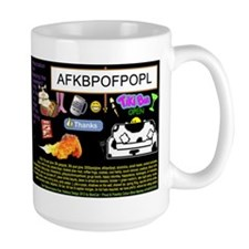 Crazy Colour Large Mug: ynotdivein