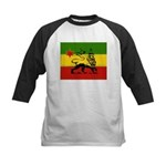 Rasta Gear Shop Rasta Flag Kids Baseball Jersey