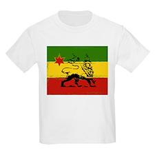 Rasta Gear Shop Rasta Flag Kids T-Shirt