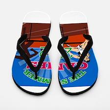 2012 summer games Flip Flops