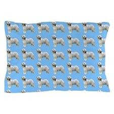 Old english sheepdog Pillow Case