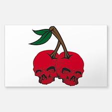 Skull Cherries Decal