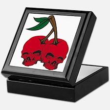 Skull Cherries Keepsake Box