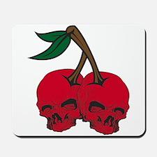 Skull Cherries Mousepad