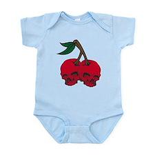 Skull Cherries Infant Bodysuit