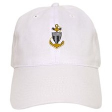 USCGR Master Chief<BR> White Baseball Cap