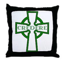 Credere Throw Pillow