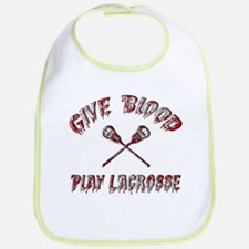 Give Blood Play Lacrosse Bib