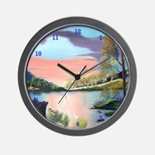 Special of cabin retreat Wall Clock