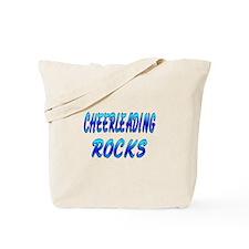 Cheerleading ROCKS Tote Bag