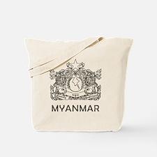 Vintage Myanmar Tote Bag