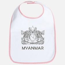 Vintage Myanmar Bib