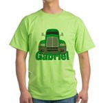 Trucker Gabriel Green T-Shirt