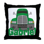 Trucker Gabriel Throw Pillow