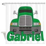 Trucker Gabriel Shower Curtain