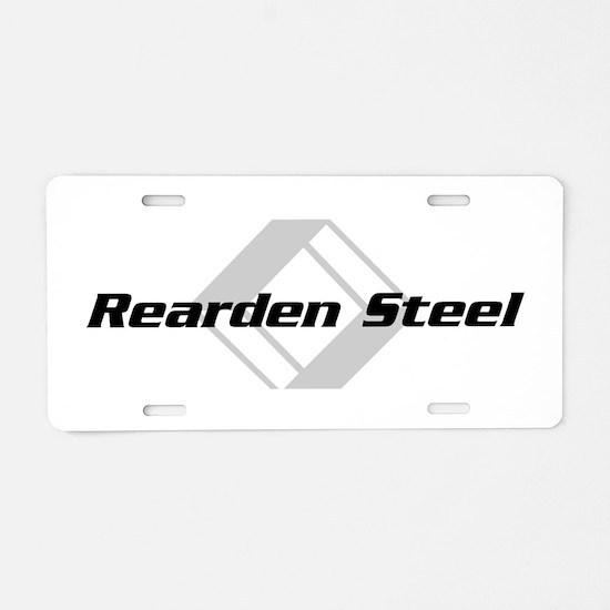 Rearden Steel Aluminum License Plate
