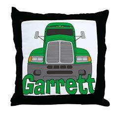 Trucker Garrett Throw Pillow