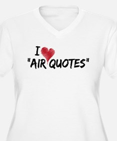 "I love ""Air Quotes"" T-Shirt"