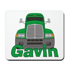 Trucker Gavin Mousepad