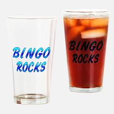 BINGO ROCKS Drinking Glass