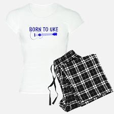 Blue Ukulele Pajamas