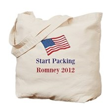 Start Packing Romney 2012 Tote Bag