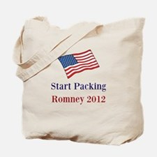 Start Packing Romney 2012 Tote Bag